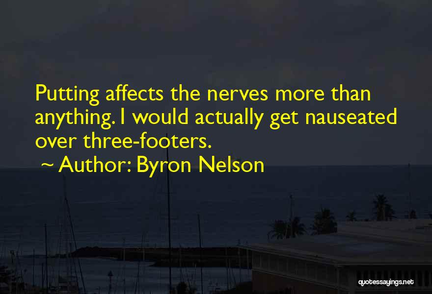 Putting Quotes By Byron Nelson