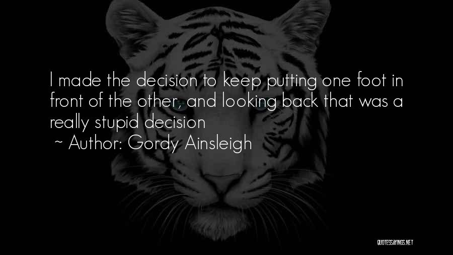 Putting Quotes By Gordy Ainsleigh