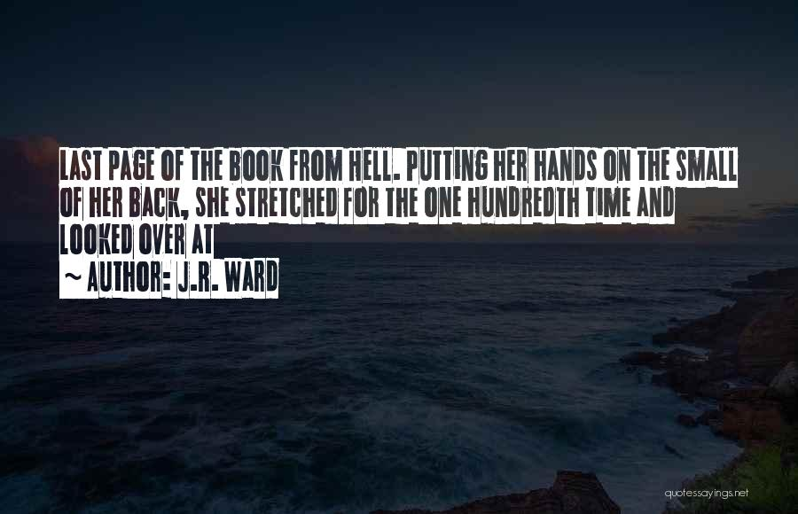 Putting Quotes By J.R. Ward