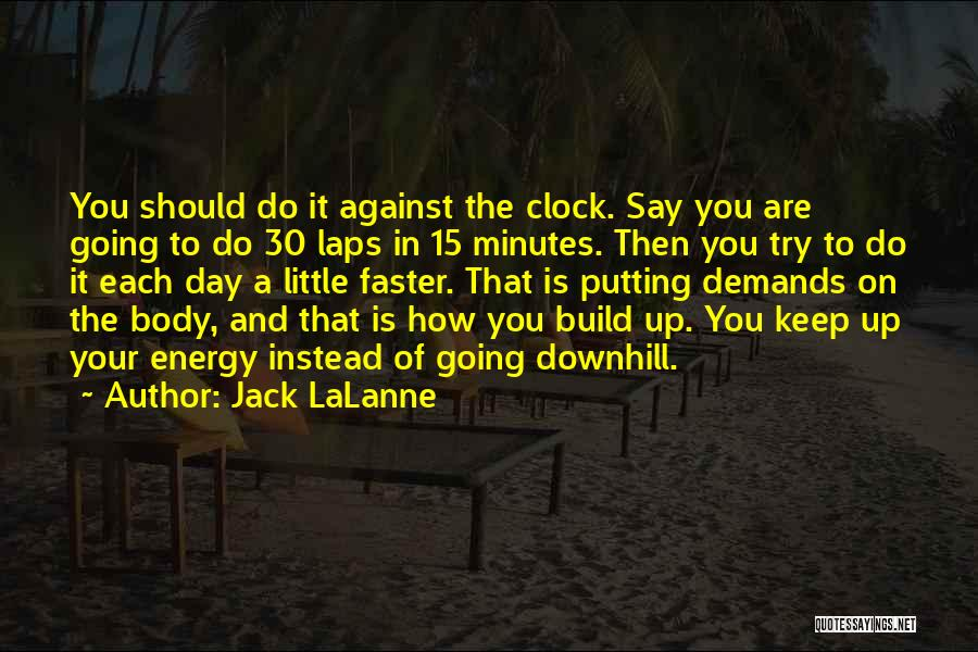 Putting Quotes By Jack LaLanne