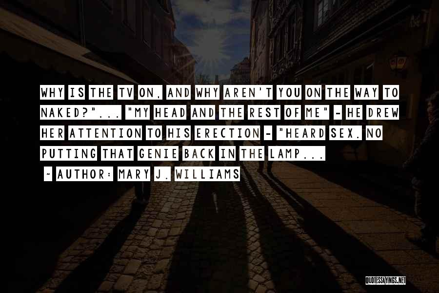 Putting Quotes By Mary J. Williams