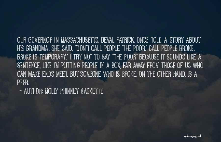 Putting Quotes By Molly Phinney Baskette