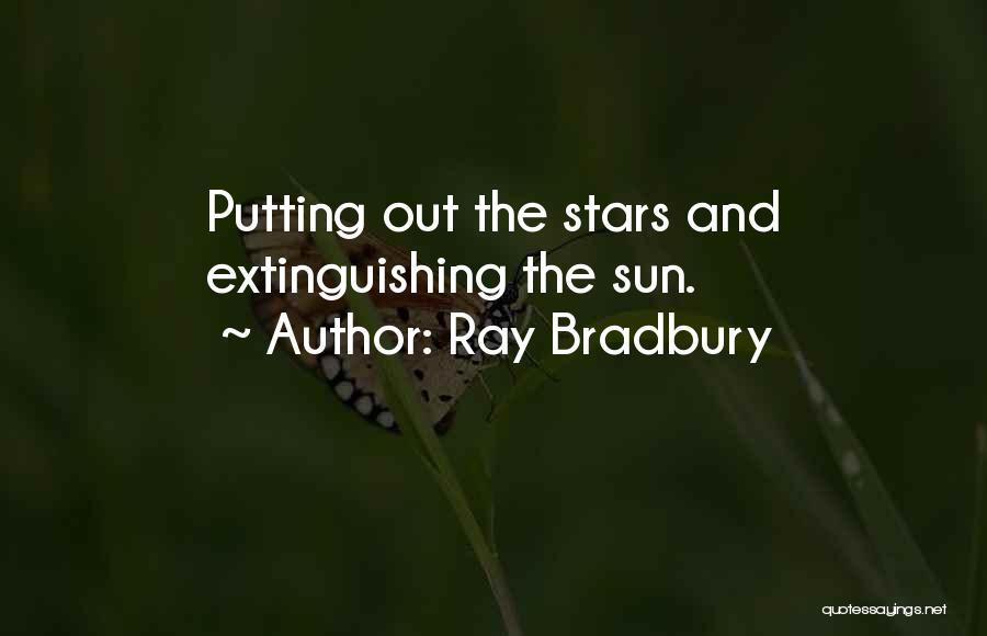 Putting Quotes By Ray Bradbury