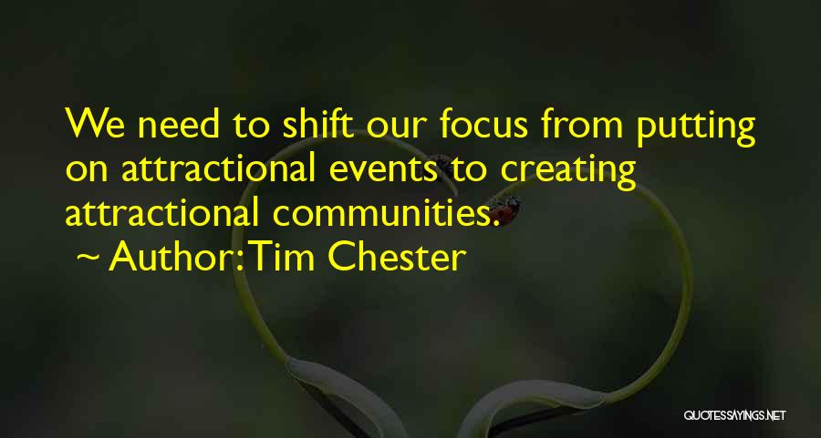 Putting Quotes By Tim Chester