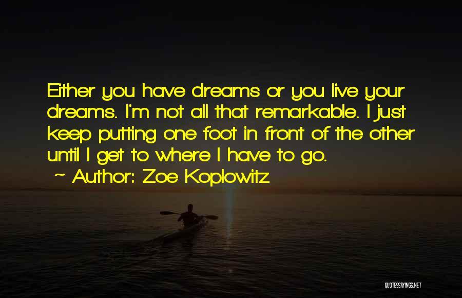 Putting Quotes By Zoe Koplowitz