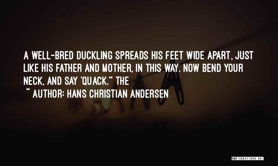 Quack Quotes By Hans Christian Andersen