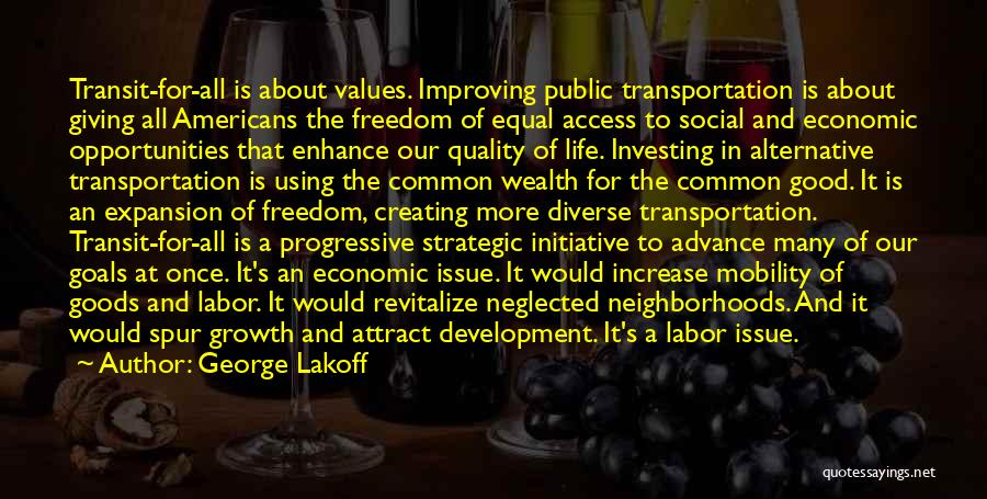 Quality Goods Quotes By George Lakoff
