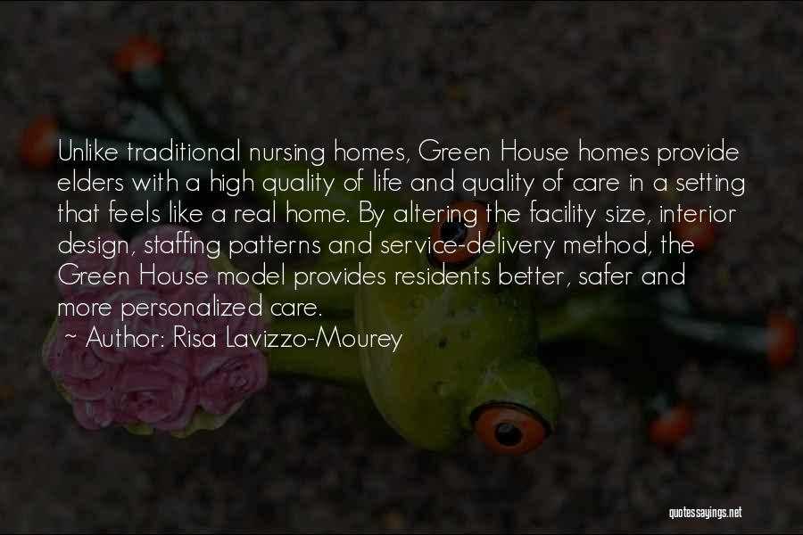 Quality Nursing Care Quotes By Risa Lavizzo-Mourey