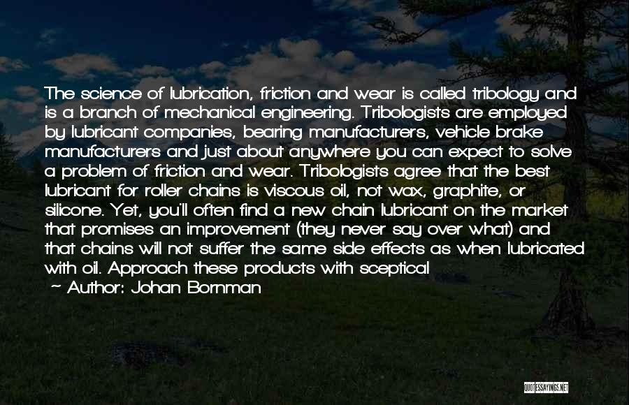 Quality Products Quotes By Johan Bornman