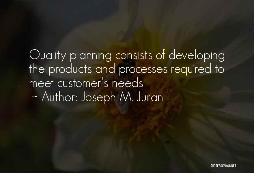 Quality Products Quotes By Joseph M. Juran