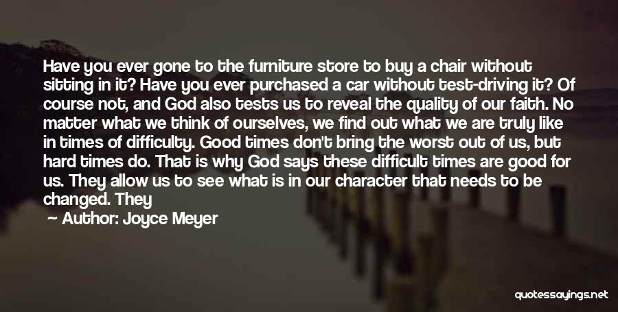 Quality Time With God Quotes By Joyce Meyer