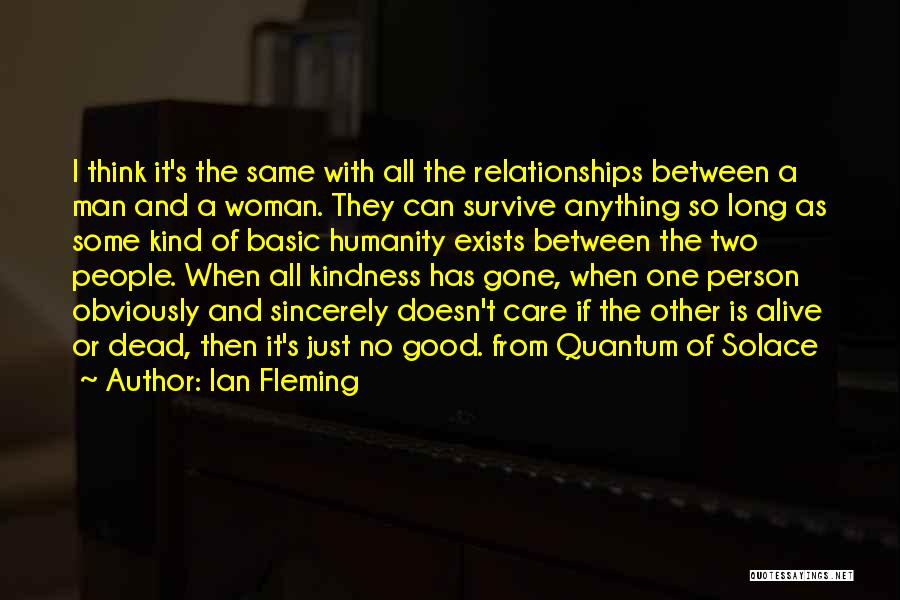 Quantum Of Solace Quotes By Ian Fleming