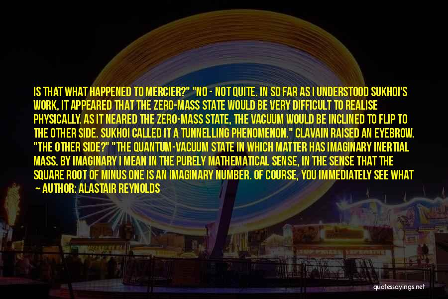 Quantum Quotes By Alastair Reynolds