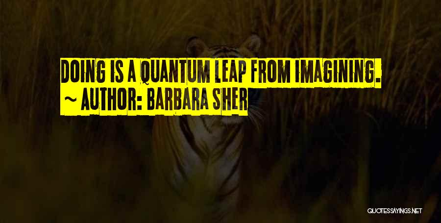Quantum Quotes By Barbara Sher