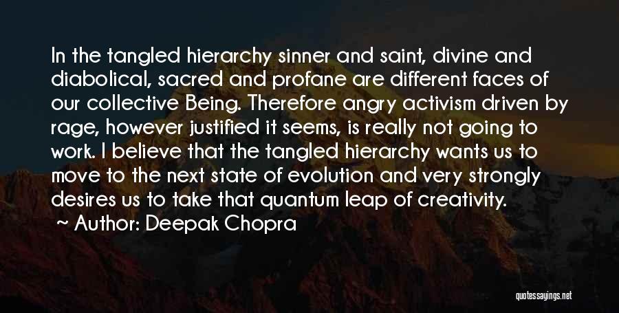 Quantum Quotes By Deepak Chopra