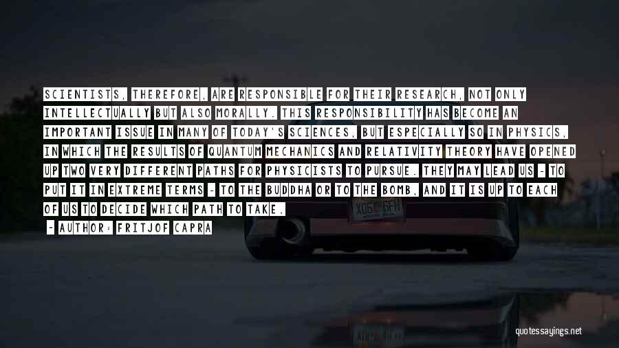 Quantum Quotes By Fritjof Capra