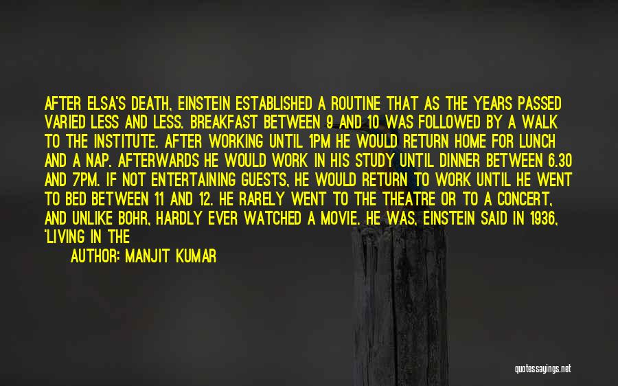 Quantum Quotes By Manjit Kumar