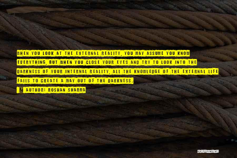 Quantum Quotes By Roshan Sharma