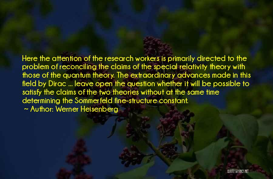Quantum Quotes By Werner Heisenberg