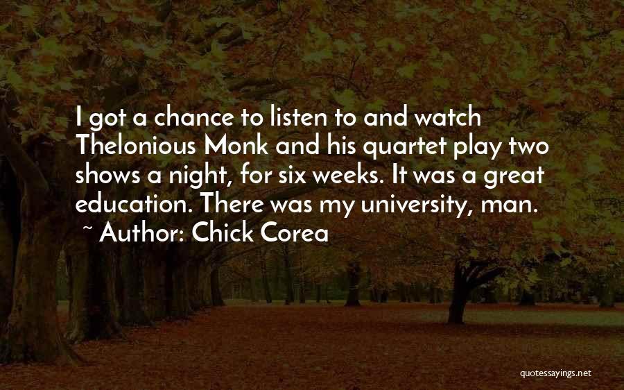 Quartet Quotes By Chick Corea