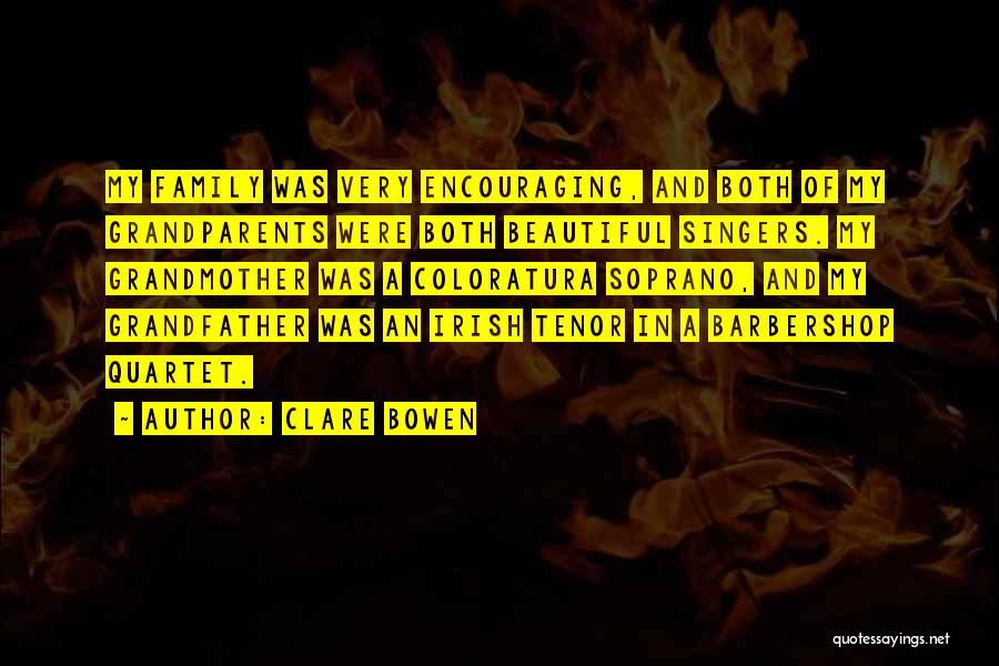 Quartet Quotes By Clare Bowen