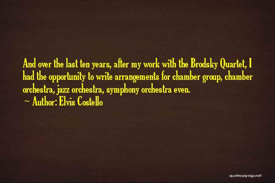 Quartet Quotes By Elvis Costello