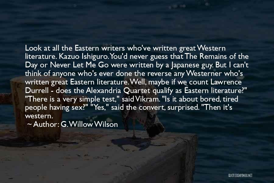 Quartet Quotes By G. Willow Wilson