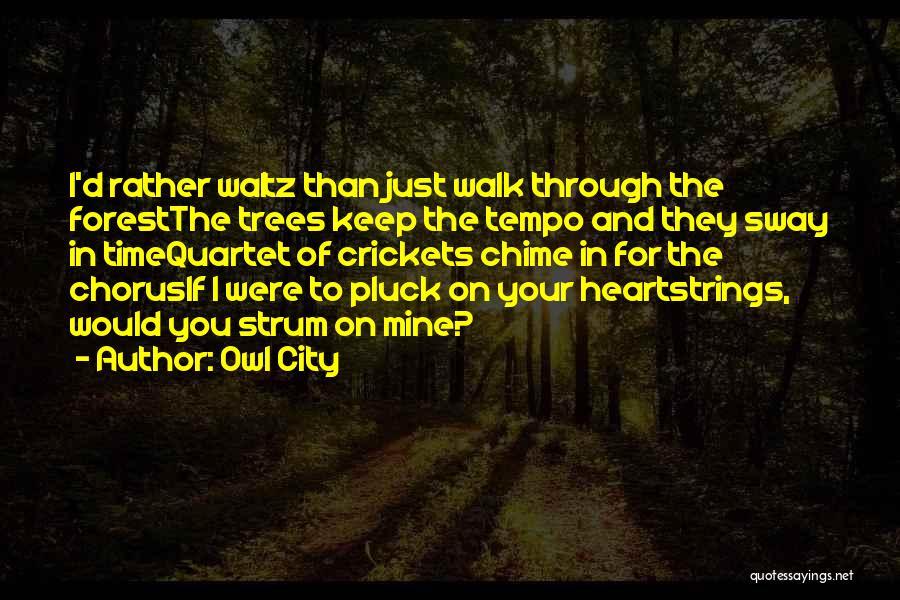 Quartet Quotes By Owl City