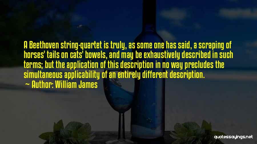 Quartet Quotes By William James