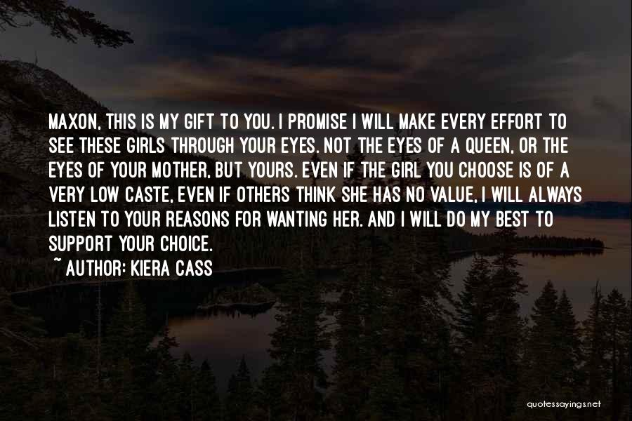 Queen Mother Quotes By Kiera Cass