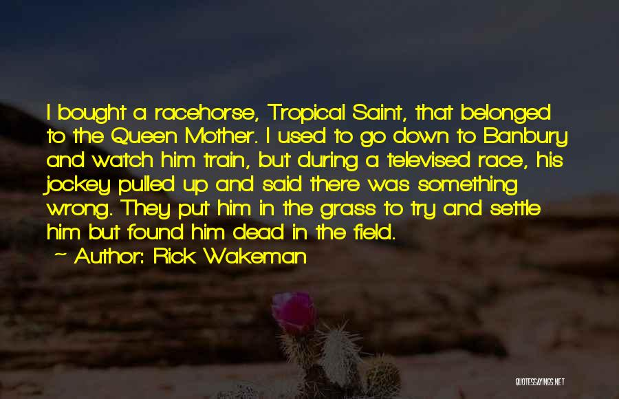 Queen Mother Quotes By Rick Wakeman