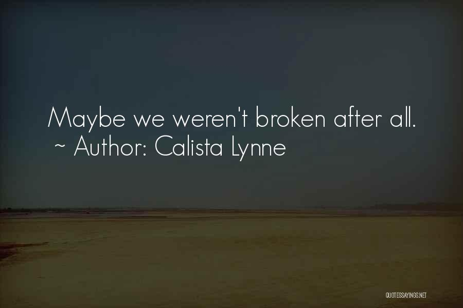 Queer Love Quotes By Calista Lynne