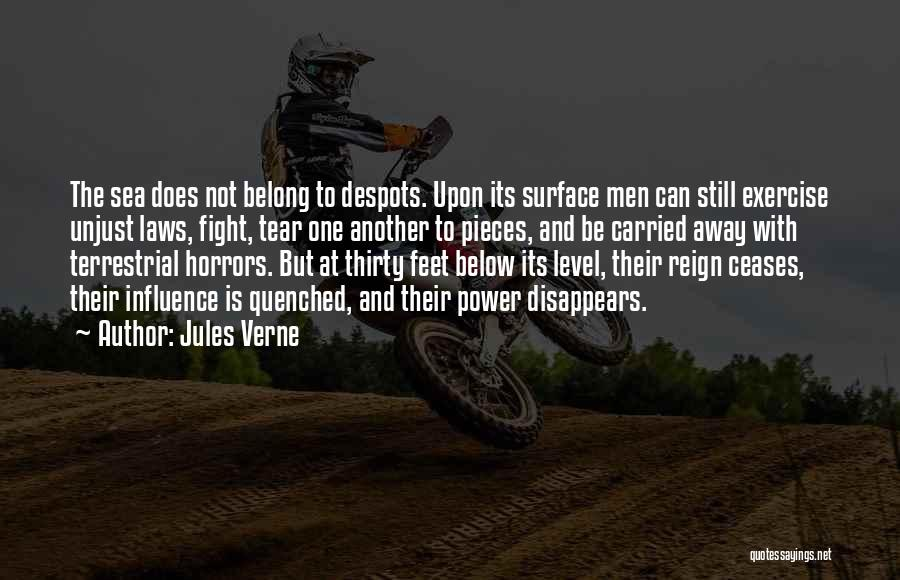 Quenched Quotes By Jules Verne