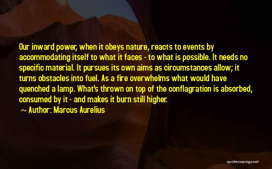 Quenched Quotes By Marcus Aurelius