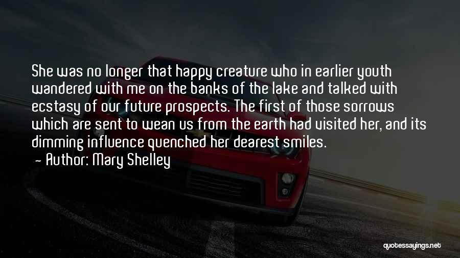 Quenched Quotes By Mary Shelley