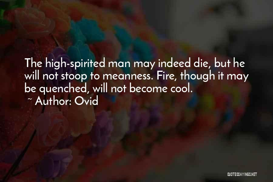 Quenched Quotes By Ovid