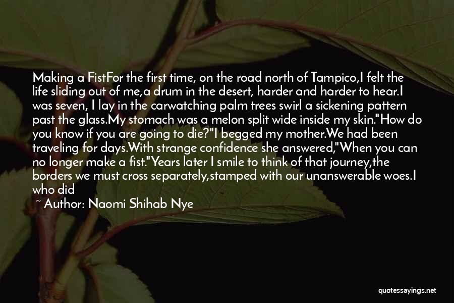 Questions Not Answered Quotes By Naomi Shihab Nye