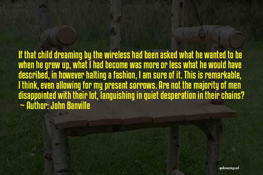 Quiet Desperation Quotes By John Banville