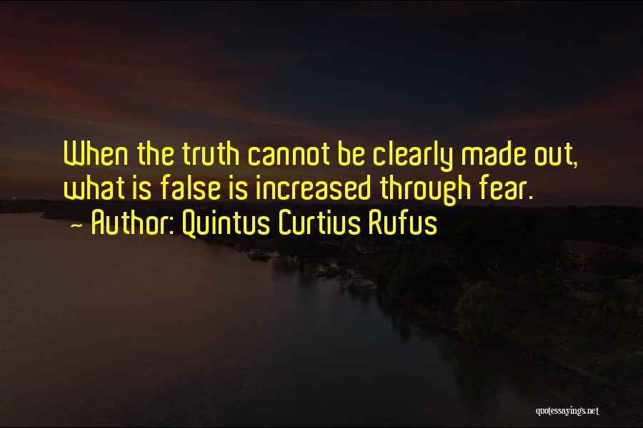 Quintus Curtius Rufus Quotes 1143460