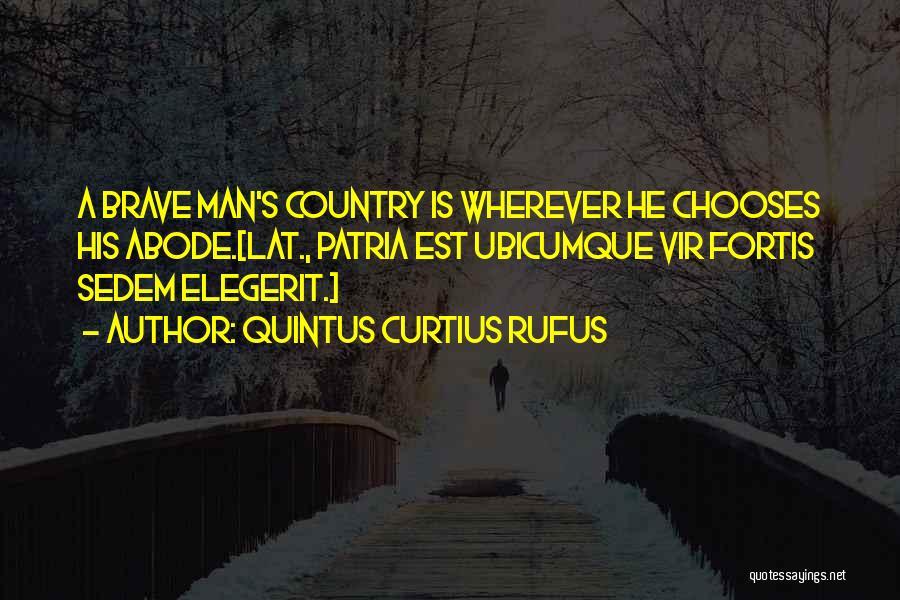Quintus Curtius Rufus Quotes 1215508