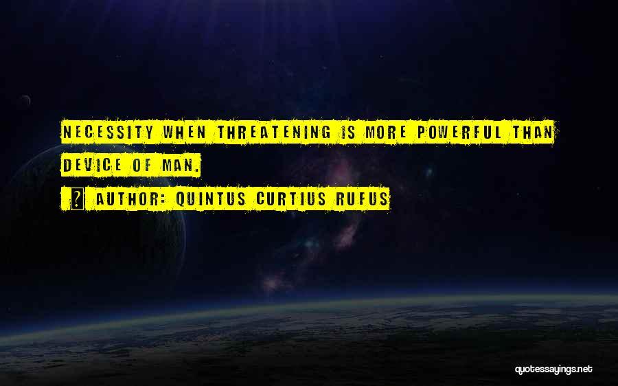 Quintus Curtius Rufus Quotes 140780