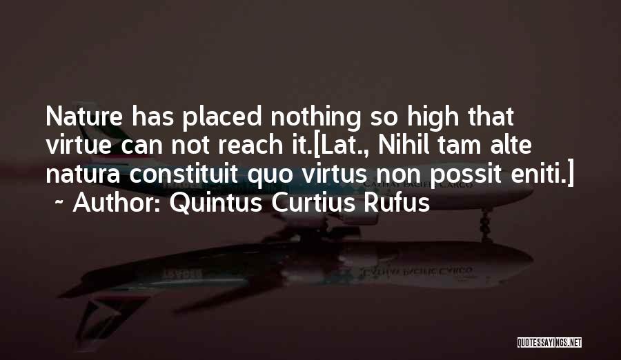 Quintus Curtius Rufus Quotes 667317
