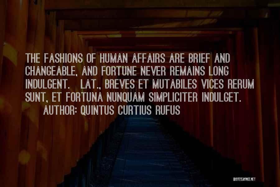 Quintus Curtius Rufus Quotes 770713