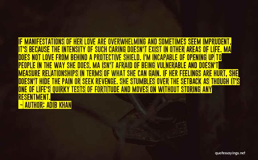 Quirky Love Quotes By Adib Khan