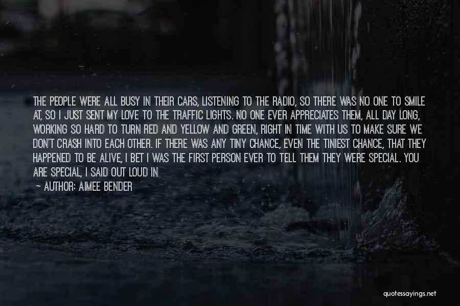 Quirky Love Quotes By Aimee Bender