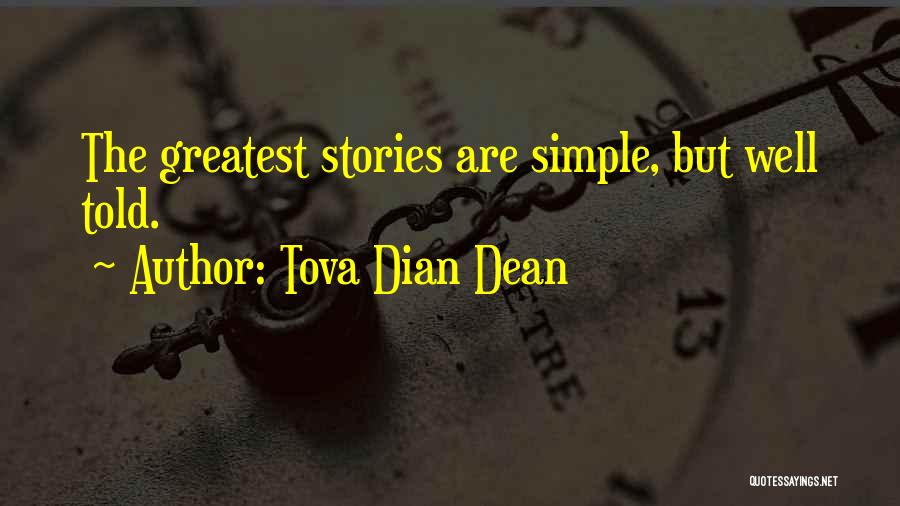 Quirky Love Quotes By Tova Dian Dean