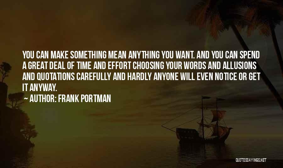 Quotations Quotes By Frank Portman