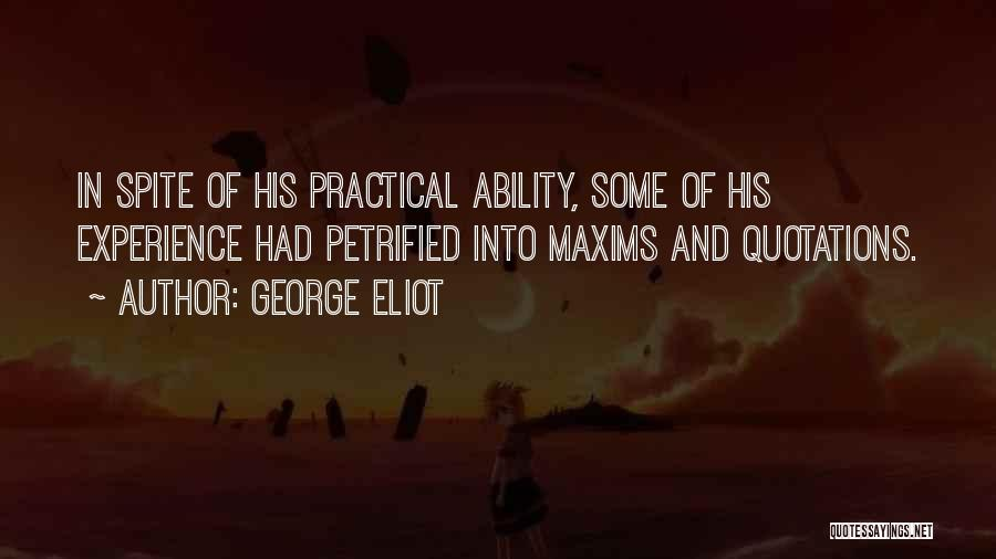 Quotations Quotes By George Eliot