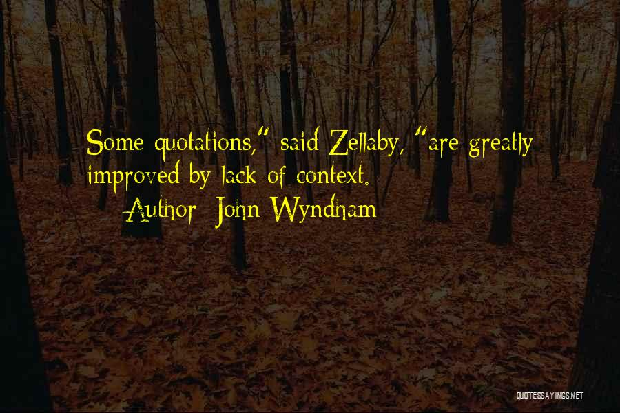 Quotations Quotes By John Wyndham