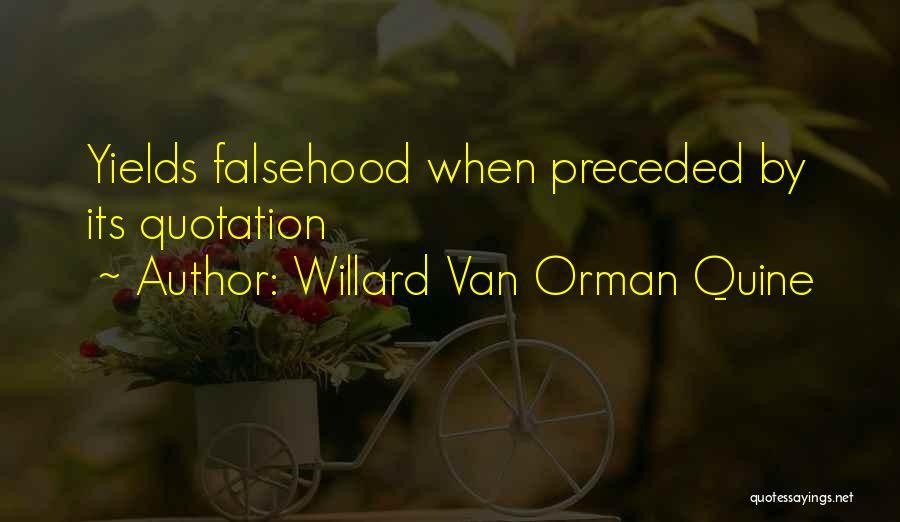 Quotations Quotes By Willard Van Orman Quine
